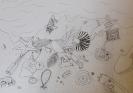 Aus dem Kunstunterricht