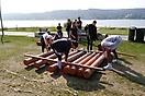 Floßbau und Kanufahren der EF